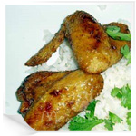 Куриные крылья с рисом рецепты с фото